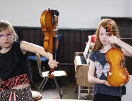 Mozart met Apollo – kleintje Zomerschool