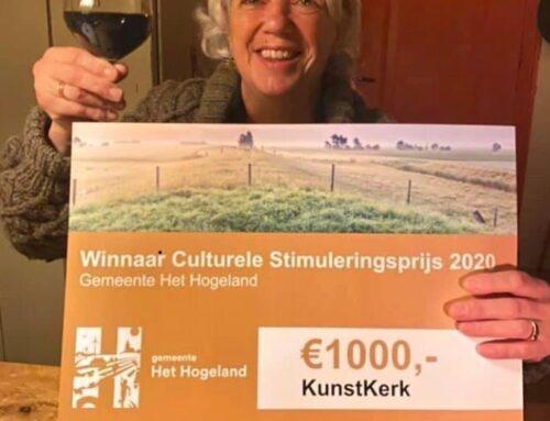 KunstKerk winnaar Culturele Stimuleringsprijs Hogeland '20
