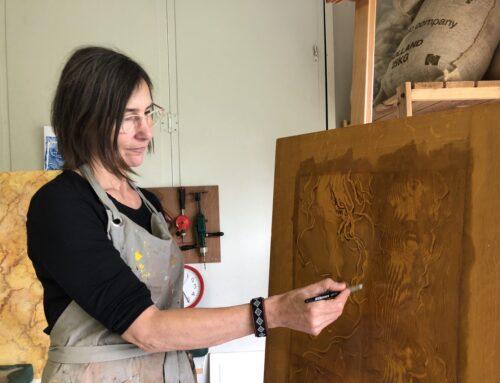 Oude schildertechnieken houten & marmeren
